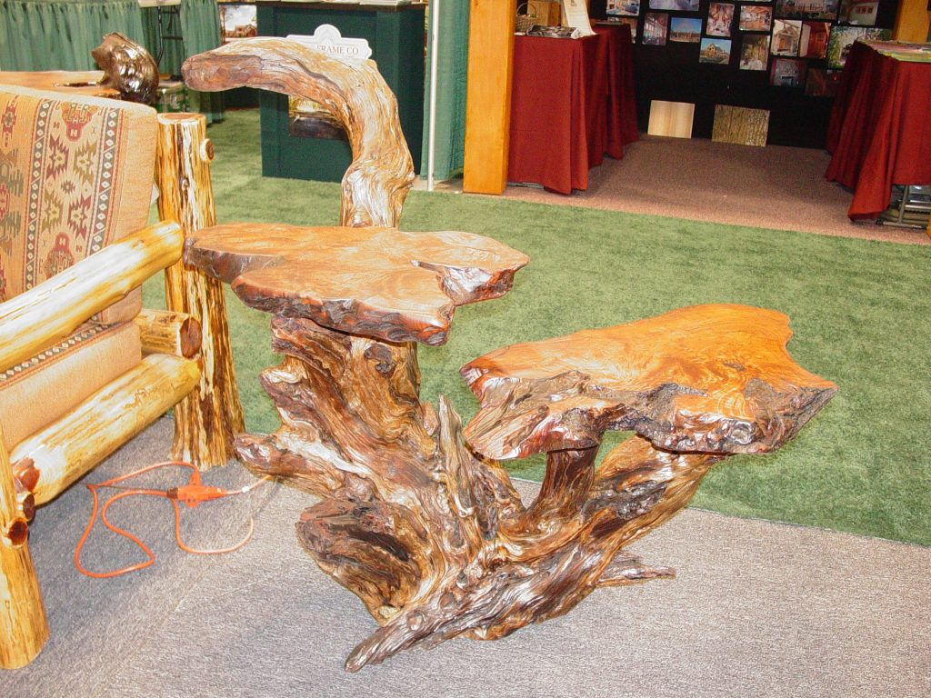 natural wood redwood burl
